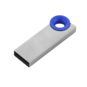 Mini Metal USB Flash Drive With Ring