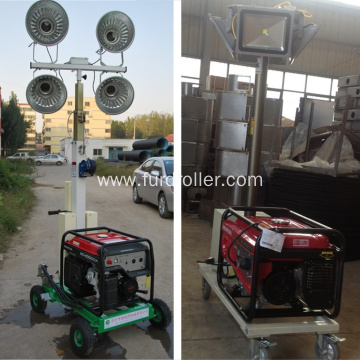 Diesel Generator Portable Telescopic Mobile Light Tower