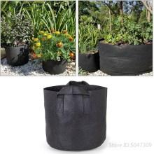 10-34 Gallon Plant Seedling Grow Bags Vegetable Jardin Seedling Growing Pots Seed Fruit Plant Culture Fabric Bag Garden Tool