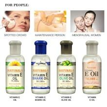 Dropship Vitamin E Moisturizing Essence Oil Shark Olive Sunflower Oil Nourishing Firming Skin Facial Massage Essential Oil NEW