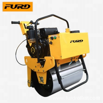 Hand Roller Compactor with Vibration Single Drum (FYL-D600)