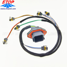 custom Diesel Engine Fuel Injection Wire Harness with DTV02-18 connectors