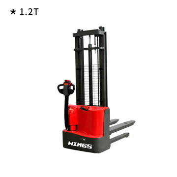 1.2t Electric pallet stacker without pedal