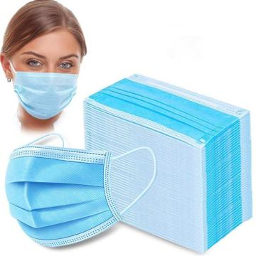 3ply disposable face mask with earloop