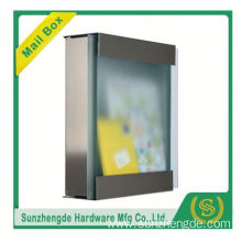 SMB-066SS China Factory Price Light Stainless Steel Mailbox Solar