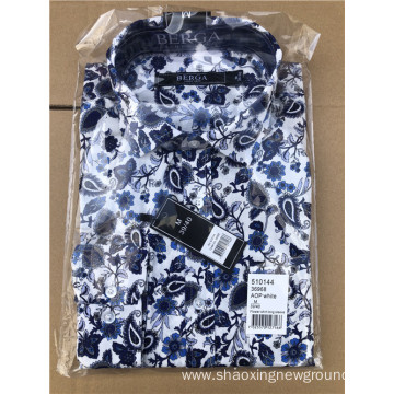 High quality print shirt in summer