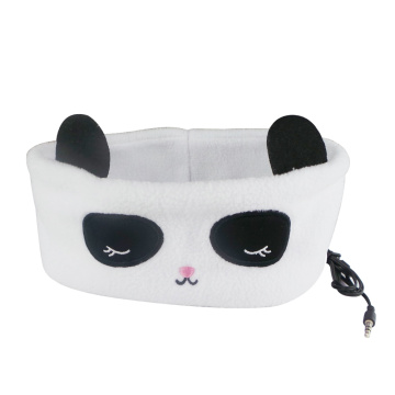 Panda Sleeping Headband Earphone Kopfhörer mit Kabel