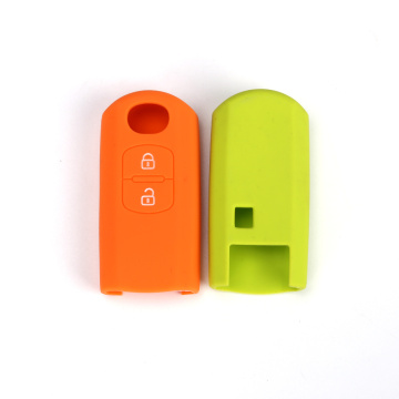 Silicone mazda key protetor with 2 buttons