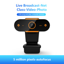 Webcam 1080p Potatable Web Camera HD Laptop USB Video Camera Video Recording With Mic For PC Computer Webcam