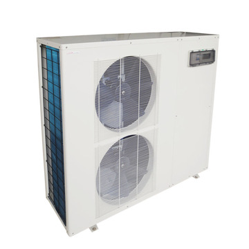 COP 7.2 Monobloc Inverter Titanium Aquaculture Heat Pump