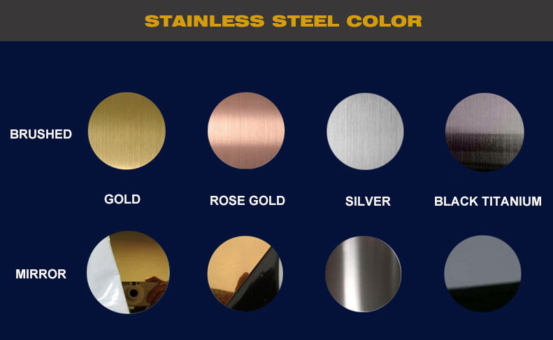 Stainless Steel Color