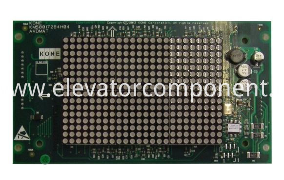 KONE Elevator COP Display Board KM50017283G01