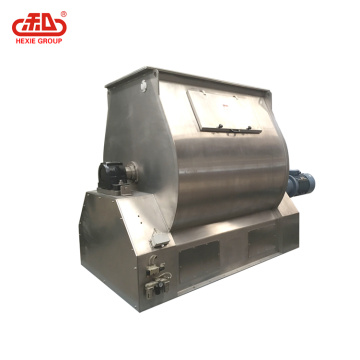 Animal feed Single shaft paddle mixer