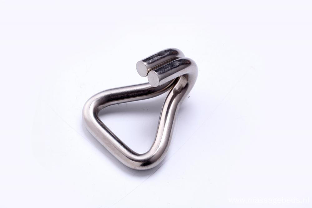 Ratchet buckle accessories Stainless Steel Metal Hook