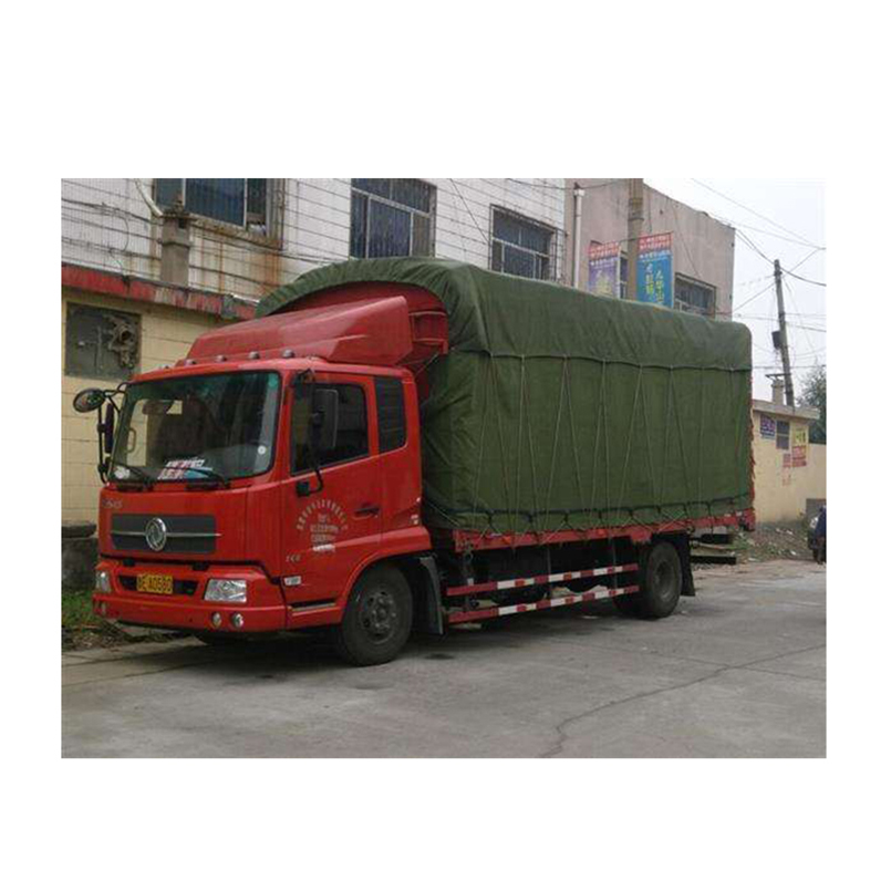 Large Polyester Canvas Tarps for Trucks Shade