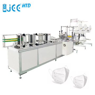 Automatic N95 Earloop Dust Face Mask Making Machine