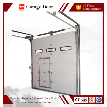 Modern Steel Sectional Automatic Garage Door