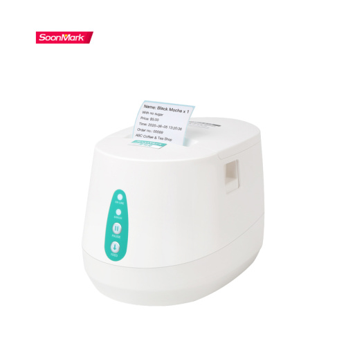 Supermarket small barcode thermal price label printer