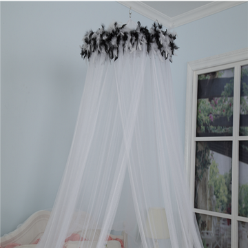 Bed Canopy 100% cotton princess girl mosquito net