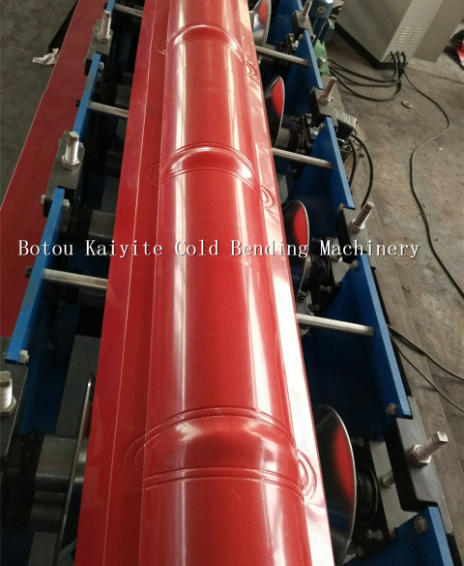 Steel Structure Metal roof tile ridge cap flashing making machine