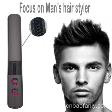 Popular man's hair styling brush