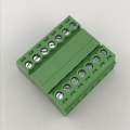 7pin contacts 3.81mm pitch screw pluggable terminal block