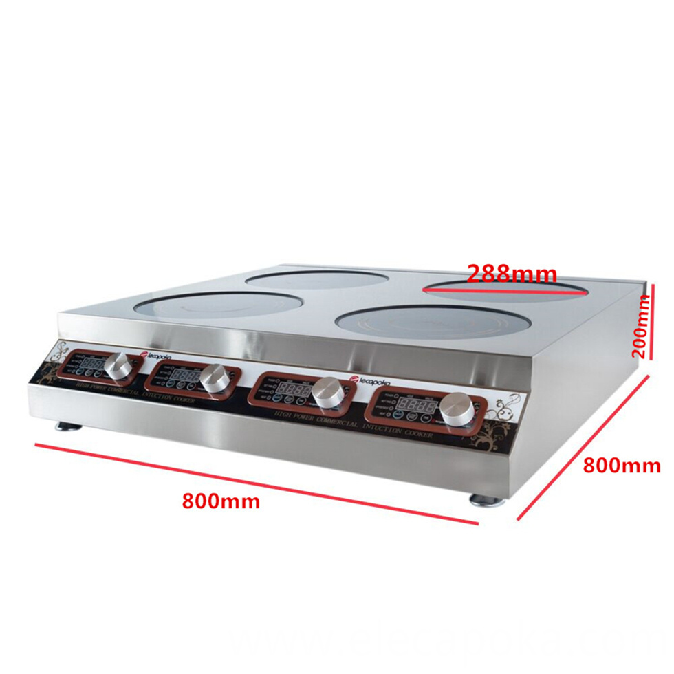 induction cooker 4 burner