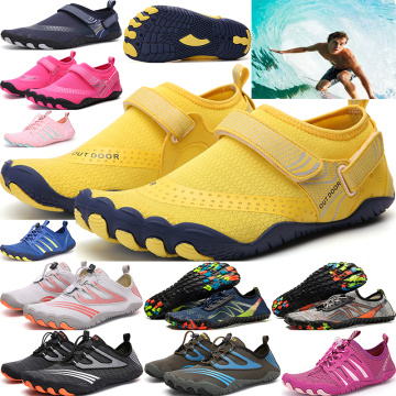 2020 NEW multifunctional outdoor shoes, five-finger shoes, swimming shoes, couple beach shoes, upstream shoes, quick-drying shoe