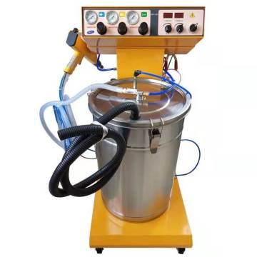Spray powder coating machine