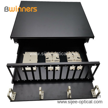 4RU High Fiber Optics Rack Mount enclosures