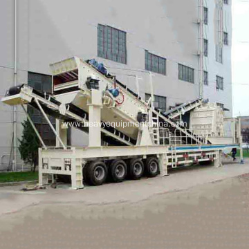 Moibile Impact Crushing Plant For Sale