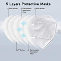White List Certified KN95 Face Mask For Adult