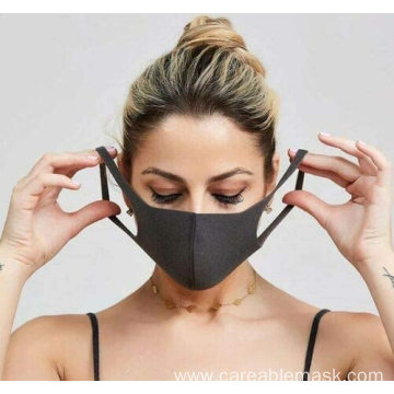 Fashion Washable Polyester Face Mask Reusable