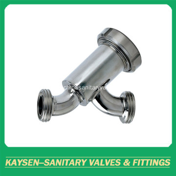 3A sanitary strainer/Filter threaded Y-type