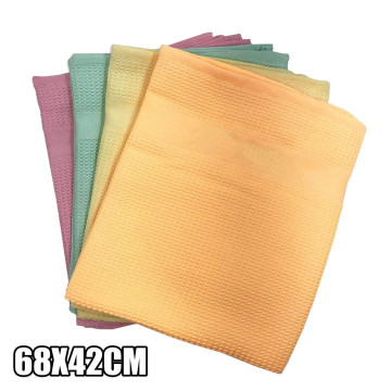 4PC Thicker Microfibre Wipes Microfiber Cleaning Cloth Portable window Kitchen Towel washing dish nano magic Cleaning towel D10