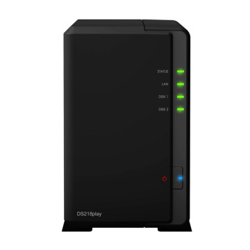 NAS Synology Disk Station DS218 Play 2-bay Diskless Nas Server Nfs Network Storage Cloud Storage NAS Disk Station