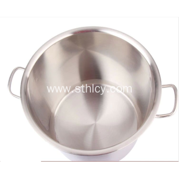 Good Quality Thickened Straight Stainless Steel Stockpot