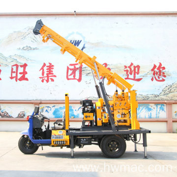 160m Drilling Rig With Tricycle