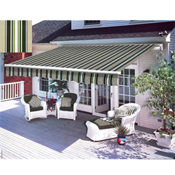Exterior Manual Window Awning Sun Rain Shade Cover