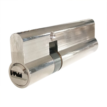 German Market Brass Key Double Door Lock Cylinder