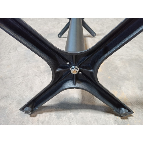 "Signature Series Steel X Table Base - Table Height (28"")"