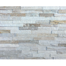 Popular Natural Gold Line Quarzite Stone Wall Paneling