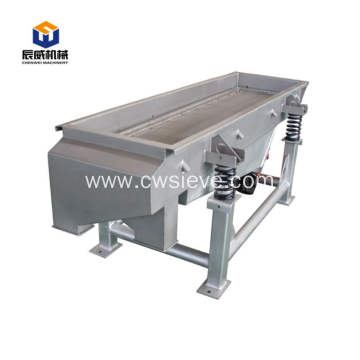 iso&ce sawdust linear vibrating screen