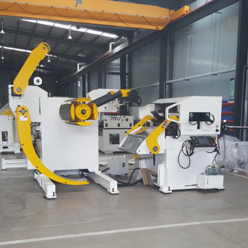 Coil feed lines for stamping presses