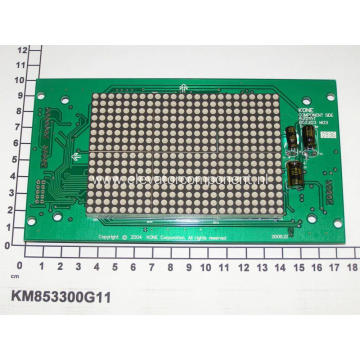 KONE COP Red Dot Matrix Display Board KM853300G11