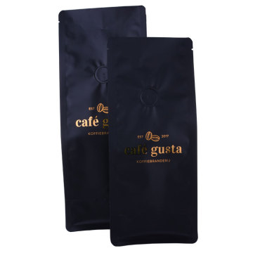 Printed Zip Lock Kraft Paper Biodegradable Bag