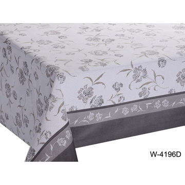 Elegant Tablecloth with Non woven backing Foot Tables