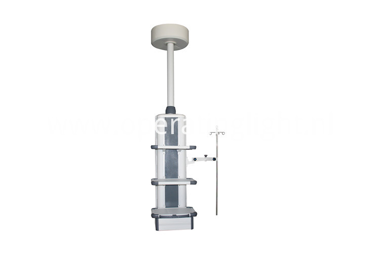 Ceiling mount medical column