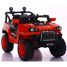 Red large children's toy electric car