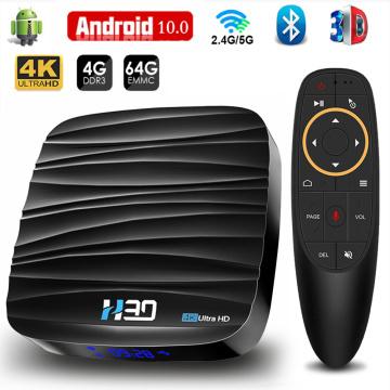 2020 Smart Tv Box Android 10 4G 64Gb 32Gb 4K H.265 Media Player 3D Android Tv Box Wifi Smart Tv Set Top Box Bluetooth 4.0